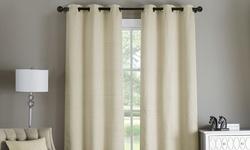 "Victoria Classics Paxton Grommet Window Panel Pair - Spice - Size: 76""x96"""