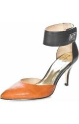 Nicole Miller Women's Brandy Pumps - Black / Camel - Size: 9