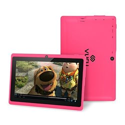 VURU 8GB Quad-Core Touchscreen Android Tablet: Pink