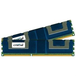 Crucial 32GB Kit (2 x 16GB) 240-Pin DIMM DDR3 PC3-14900 Memory Module