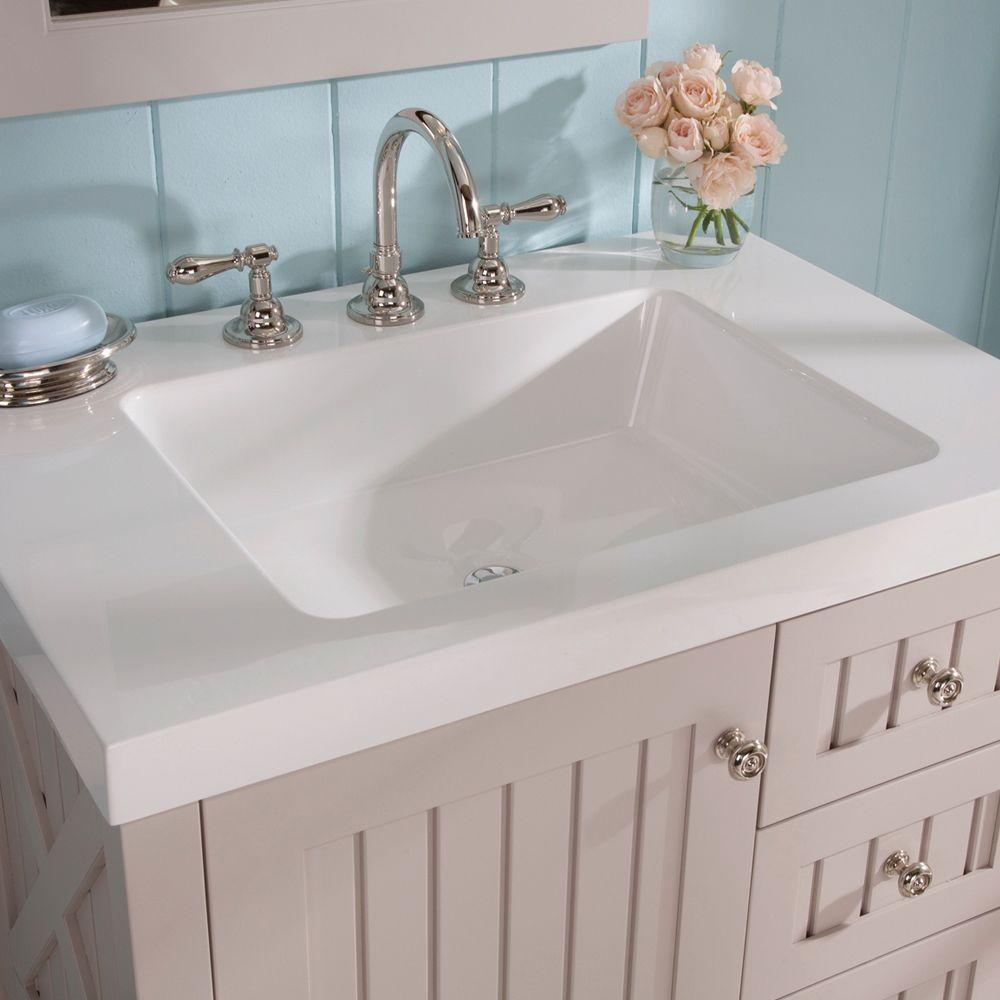 Msl Seal Harbor 30 25 In Vanity Sharkey Gray With Top White