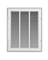 TruAire 14 in. x 20 in. White Return Air Filter Grille