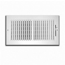 TruAire 14 in. x 4 in. 2 Way Wall/Ceiling Register (H102M 14X04)