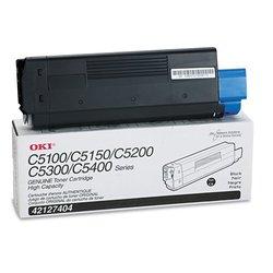 Okidata 42127404 Black Toner Cartridge (C5100N)