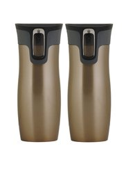 Contigo 16 oz. West Loop Travel Mug - Set of 2 - Latte