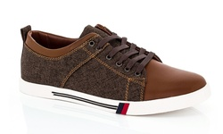 Franco Vanucci Men's Sneakers - Brown - Size: 9.5