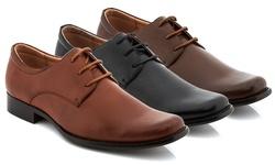Adolfo Men's Lace-up Dress Shoe: Brown - 11.5