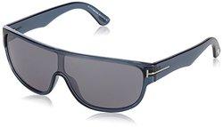 Tom Ford Sunglasses: Blue Frame-blue Lens