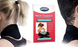 Doctor Lutaevono Self-Heating Neck Support - Black