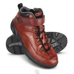 Dr. Comfort Ranger Lace-Up Boots - Chestnut - Size: 12