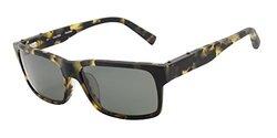 Nautica Aviator and Rectangle Unisex Sunglasses: N6189S Tortoise / Green
