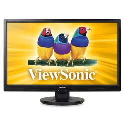 "ViewSonic 24"" LED/LCD Monitor 5ms Widescreen With Speakers (VA2446M-LED)"