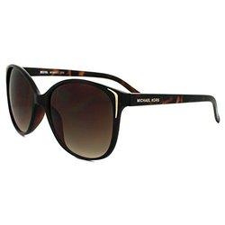 Michael Kors Sunglasses Frame Crystal Tortoise Lens - Brown Gradient