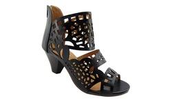 NY VIP 819 Women's Sandals - Black - Size: 8.5