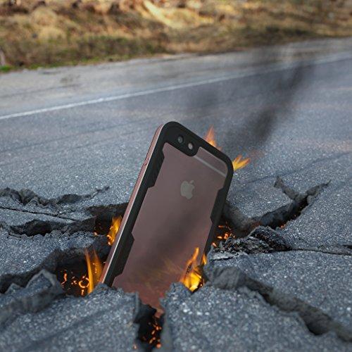 new york ab8d4 d8ea8 Ghostek Atomic 2.0 Space Waterproof Case for iPhone 6/6s Plus - Pink ...