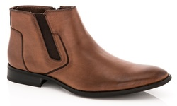 Adolfo Men's Dress Boots - Brown - Size: 10.5