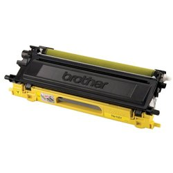 Brother TN110Y Laser Toner Cartridge 1500 Page Yield yellow