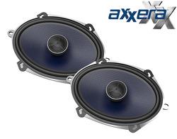 "Axxera 5x7"" / 6x8"" 2-Way Car Speakers - 1 Pair (AS68)"