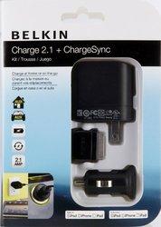 Belkin Auto/AC Adapter 5V DC 2.10 A iPad iPod iPhone Notebook F8Z752tt03