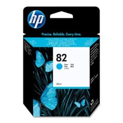 Genuine HP 82 CH566A Cyan Ink Cartridge Designjet 500 500ps 510ps 800ps