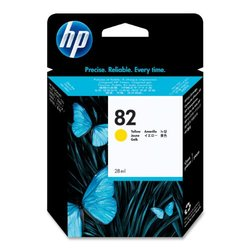 Genuine HP 82 CH568A Yellow Ink Cartridge Inkjet For HP 500 500ps 510ps