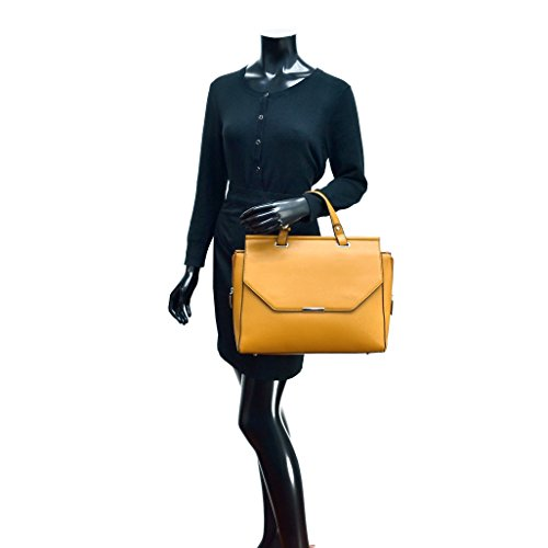 094ee69ccafe ... Dasein Briefcase Satchel Handbag with Expandable Zipper Sides - Aqua ...
