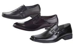 Henry Ferrera Justine 400 Men's Slip On Dress Shoes - Black - Size: 13
