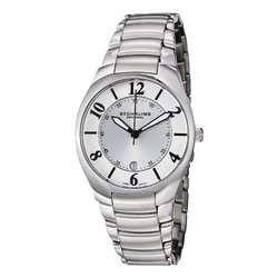 Stuhrling Original Men's Watch: GP12530/Silver Band-White Dial