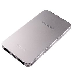 Lenovo PB410 5000mAh Power Bank - Silver (888016288)