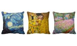 iLeesh Classic Art Throw Pillows - The Scream
