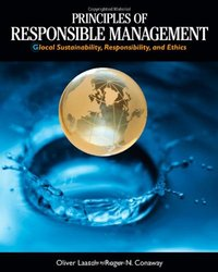 South Western College Principles of Responsible Management - Hardcover