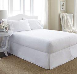 Merit Linens Premium Terry Cotton Waterproof Mattress Protector: Queen