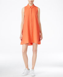 Rachel Roy Women's Shift Shirtdress - Poppy - Size: Large