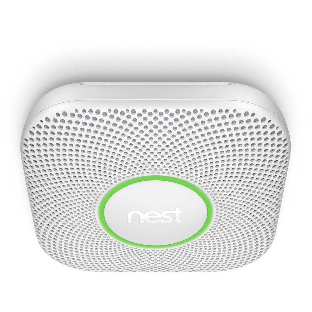 Nest Protect Wired Smoke And Carbon Monoxide Detector (S3003LWES ...