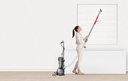 Dyson Cinetic Animal/Allergy Upright Vacuum Cleaner - Metallic (206033-01)