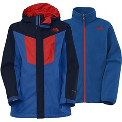 The North Face Boy's Vortex Triclimate Jacket - Blue - Size: Large 14/16