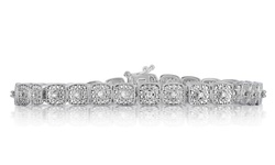 Beauty Gem Diamond Accent Bracelet - Square