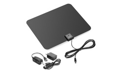 Viewtv Amplified HDTV Antenna with 60-Mile Range - Black