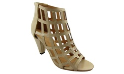 NY VIP Women's 815 Gladiator Sandals - Beige - Size: 8.5