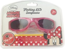 Light Up Kids Characters LED Sunglasses: Minnie Mouse/SNMNIE109