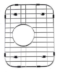 Alfi Small Solid Kitchen Sink Grid - Stainless Steel