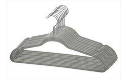 Home Basics 120 Pack of Velvet Hangers - Grey