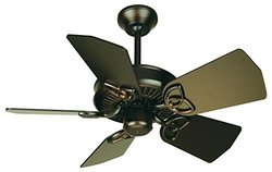 "Craftmade 30"" Piccolo Ceiling Fan with Blades - Oiled Bronze(PI30OB)"