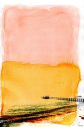 """Parvez Taj Jetty UV Ink Canvas Artwork - 32"""" x 24"""""""
