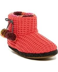 Cuddl Duds Women's Lena Boots - Coral - Size: 9-10