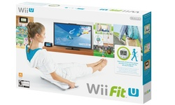 Nintendo Wii Fit U Game with Wii Balance Board + Fit Meter