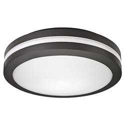 LED Ceiling Light, Bronze, 17W