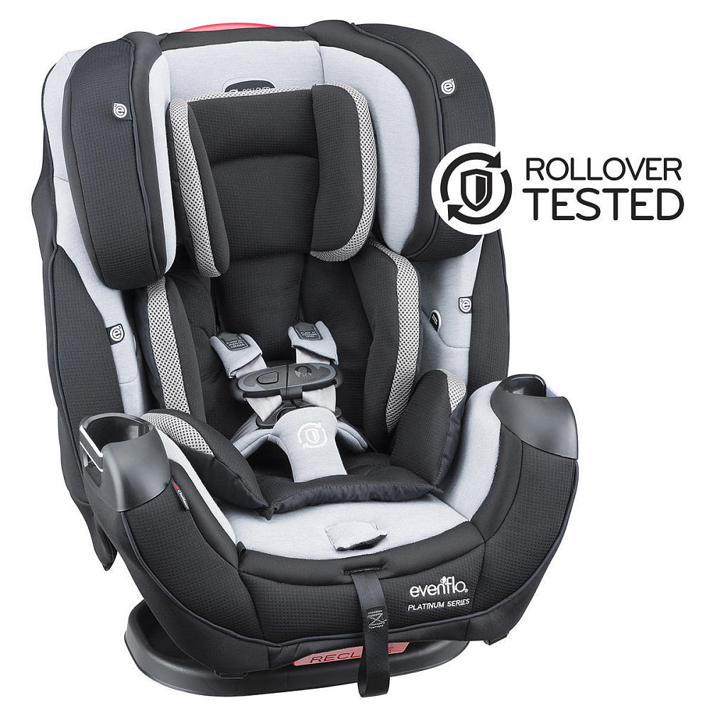Evenflo Platinum Symphony DLX All In One Convertible Car Seat