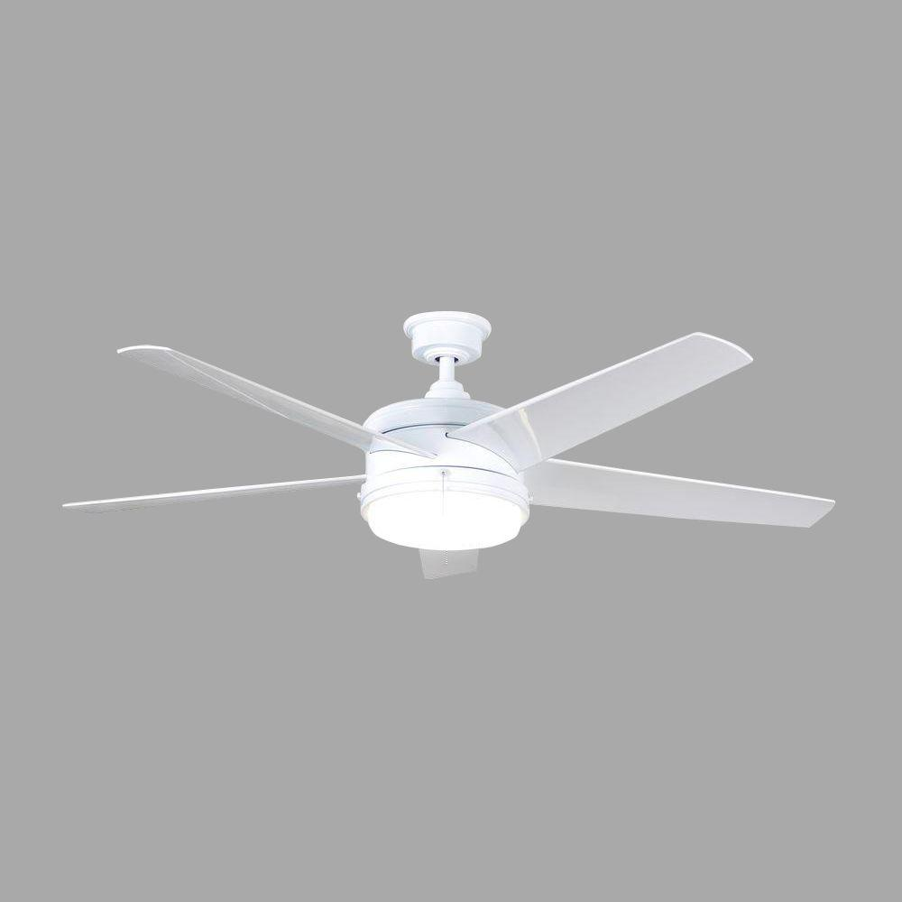 Hdc Portwood 60 Led Indoor Outdoor White Ceiling Fan