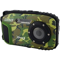 Coleman 20.0 MP/HD Waterproof Digital Camera - Camouflage (C9WP-CAMO)